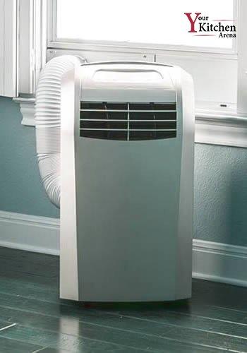Image of portable ac ventilation process