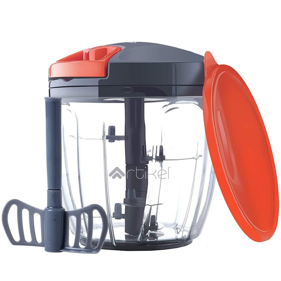 Artikel Vegetable Chopper & Blender with storage lid