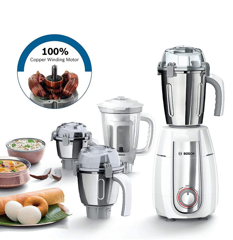 Bosch Style Mixer Grinder MGM6642WIN