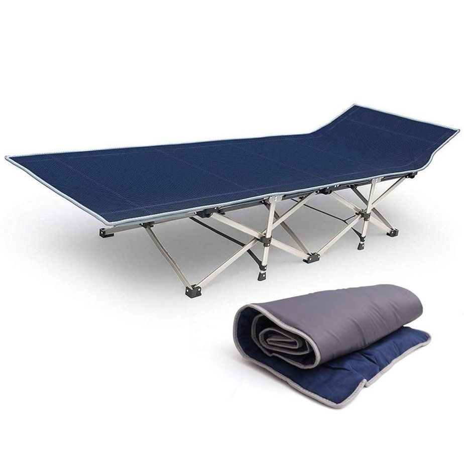 Kurtzy Folding Bed Cot for Camping