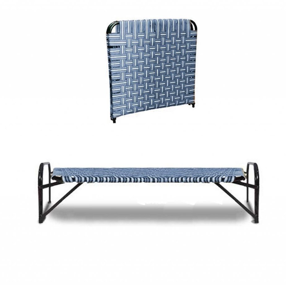 Luster Reinforced Single Folding Bed