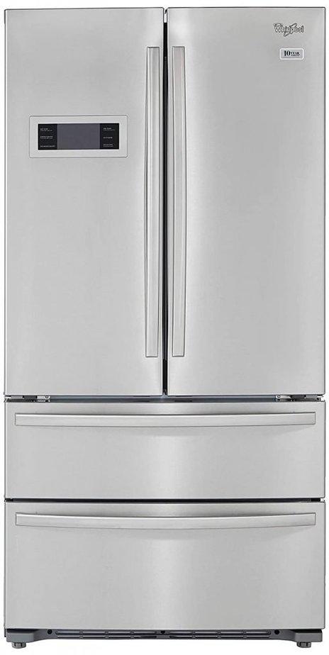 Whirlpool 570 Litres bottom freezer refrigerator