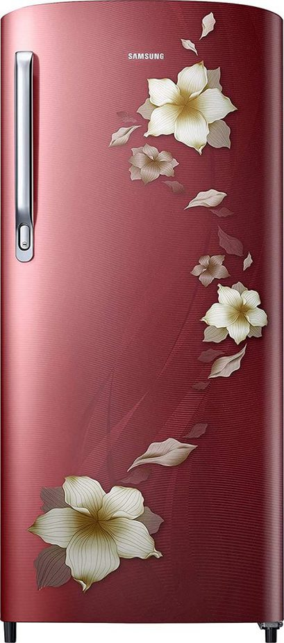 Single Door Samsung Flower Red