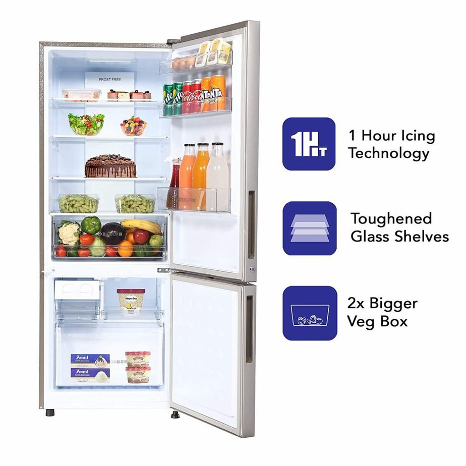 Energy effeciency of a refrigerator